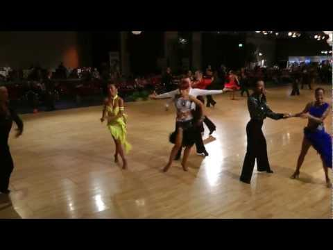 Holland Masters 2012 Papendal/Arnhem WDSF Int. Open Seniors Latin Semi Final