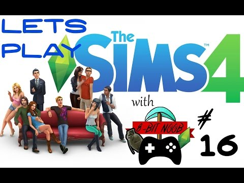 Sexy Time - Ep.16 | Let's Play Sims 4 | 8-Bit Noob