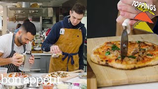 Chris and Andy Try to Make the Perfect Pizza Toppings | Making Perfect: Episode 4 | Bon Apptit