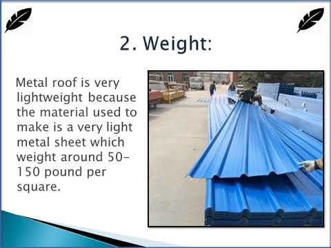 Benefits of installing metal roof for house in San Juan Island