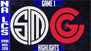 Video TSM vs CG Highlights   NA LCS Week 4 Spring 2018 W4D1   Team Solomid vs Clutch Gaming Highlights download MP3, 3GP, MP4, WEBM, AVI, FLV Agustus 2018