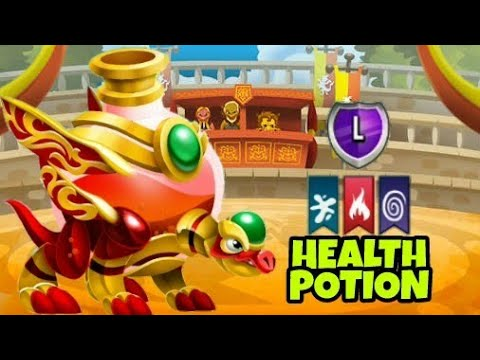 THE NEW HEALTH POTION DRAGON REVIEW Dragon City