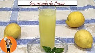 Granizado De Limón Auténtico Receta De Cocina En Familia Youtube