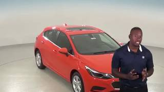 183081 - New, 2018, Chevrolet Cruze, LT, Hatchback, Orange, Test Drive, Review, For Sale -