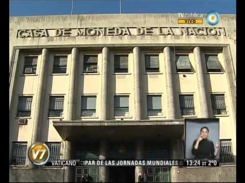 Visión 7: La Casa de la Moneda desmintió información de Clarín