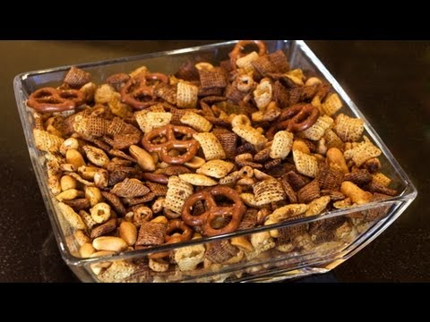 How to Make Traditional Chex Mix