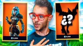 NEW LEGENDARY SKINS IN FORTNITE! - TheGrefg