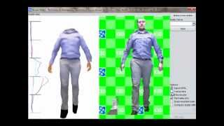 real time realistic body 3d reconstruction and texture mapping from a kinect for monitoring obesity