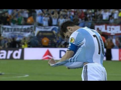 Lionel Messi Falla Penal Vs Chile, Argentina 0 - 0 Chile (2 - 4) Final Copa América Centenario 2016
