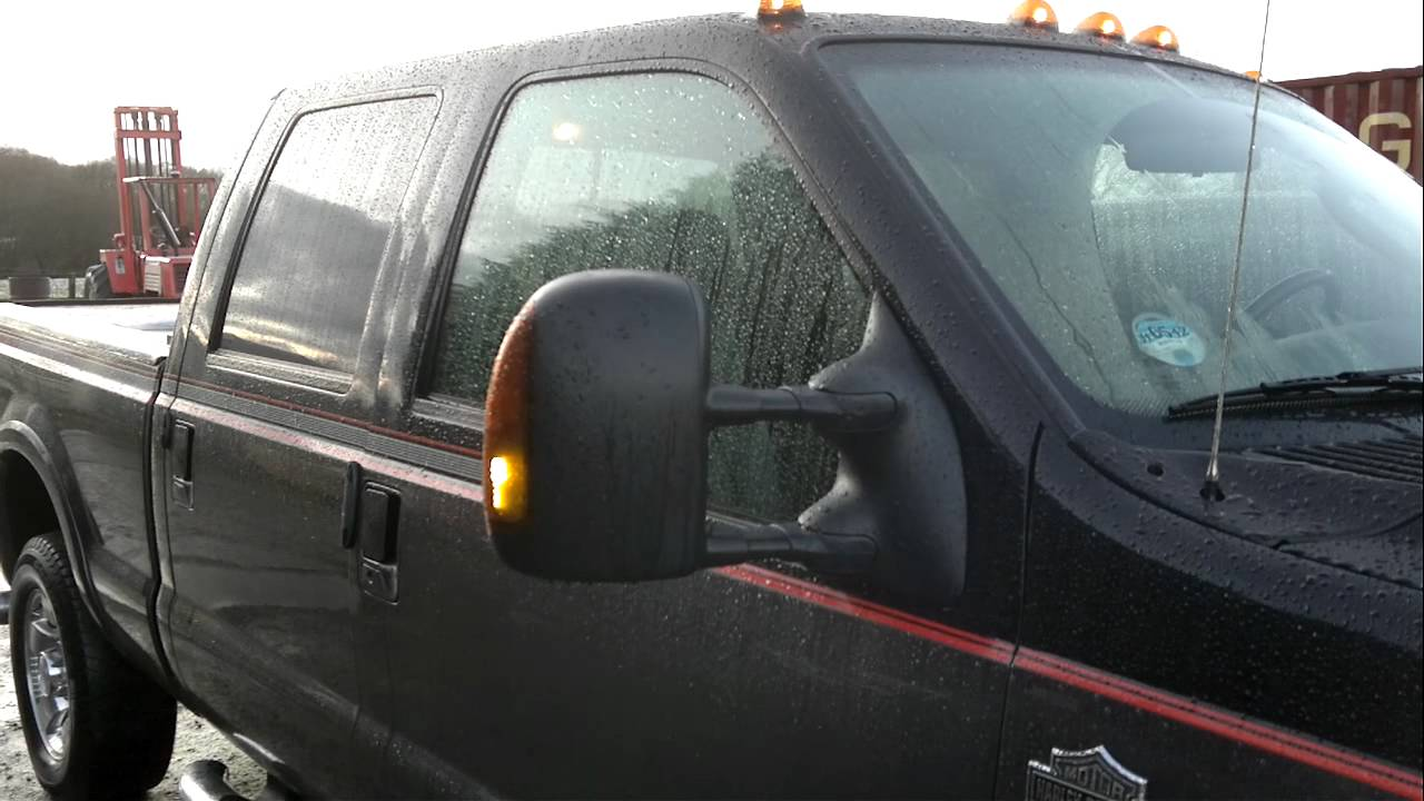 Lights F250 2004 Side Mirror