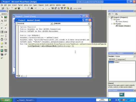 Cara Membuka Visual Basic Yang Diproteksi