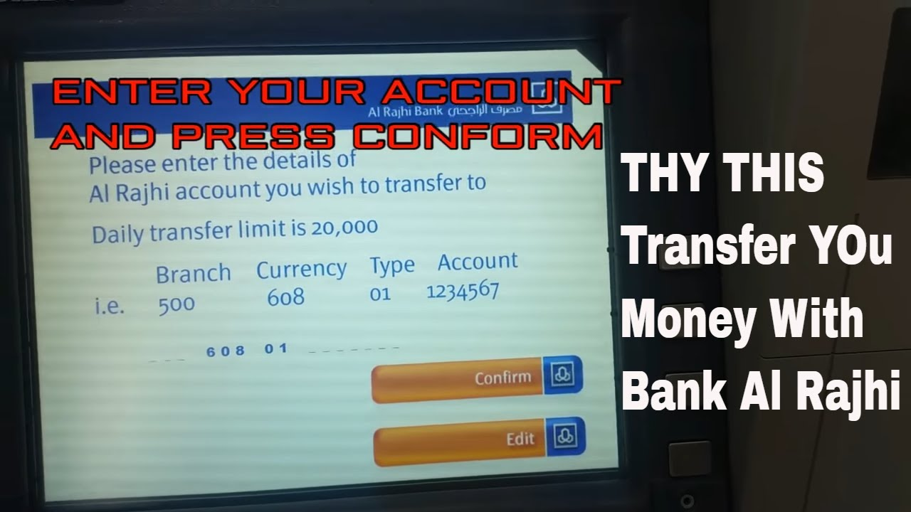 indian bank money transfer without atm