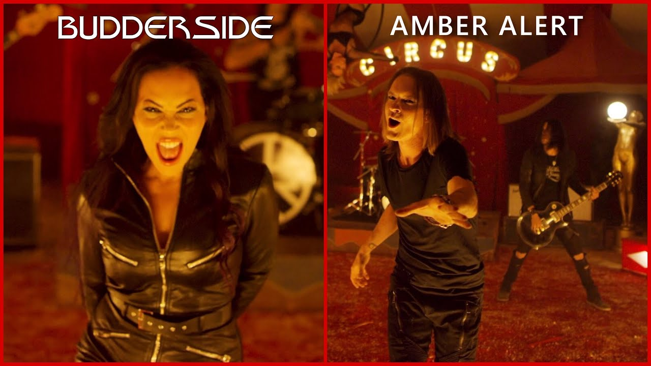 Budderside - Amber Alert Feat. Carla Harvey of Butcher Babies (Official Video)