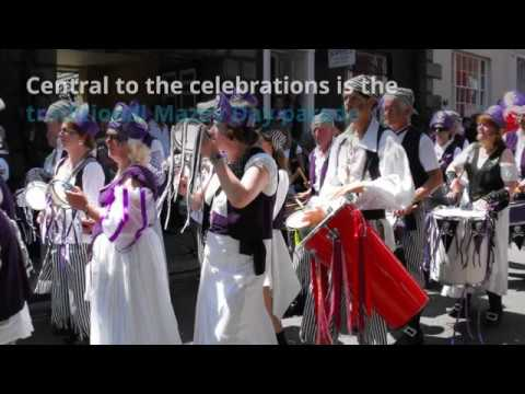 Padstow's Obby Oss  and Other Traditional Events in Cornwall