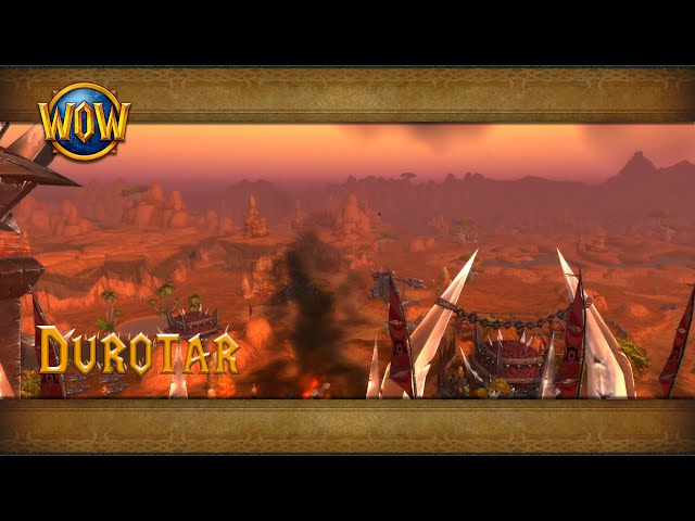 Durotar Ambience Azeroth World Tour