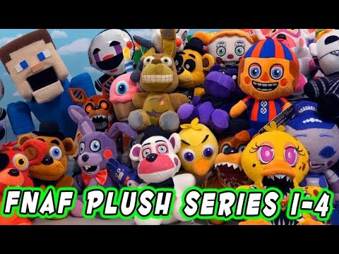 The Complete FNAF PLUSH Ultimate Checklist Guide for Series 1-4 & All Exclusives