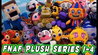 The Complete FNAF PLUSH Ultimate Checklist Guide for Series 1-4 & All Exclusives!