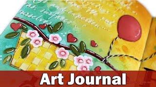 art journal   enjoy the ride