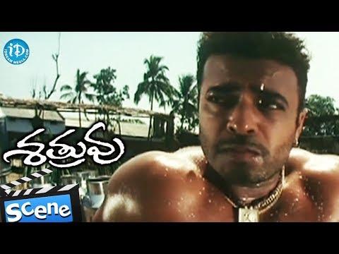 Shatruvu Movie - Villain Riyaz Khan Introduction Scene