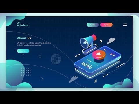 Website UI Design Tutorial | Web Design In Adobe XD Tutorial For Beginners  2019 thumbnail