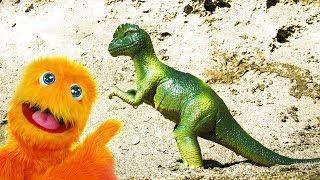 Мир юрского периода T-Rex против INDOMINUS REX - игрушки динозавров Фигурки, Транспорт для детей