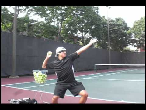 Tennis Serve Lesson
