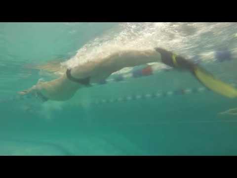Техника плавания в моноласте