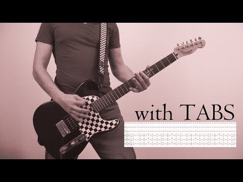 Thousand Foot Krutch - We Are Guitar Cover w/Tabs on screen