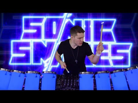 Sonic Snares - DJ with LED Drums and Visuals