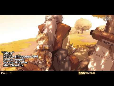 [TYER] English Naruto Shippūden OP6 - Sign [feat.Gray Fox]