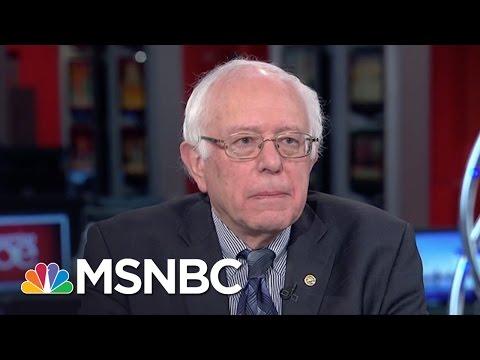 Bernie Sanders: Wall Street Greed Destroying US Economy | Morning Joe | MSNBC