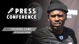Antonio Brown Presser - 8.13.19 | Raiders