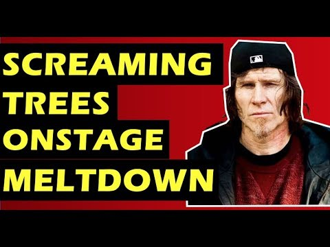 Screaming Trees  Mark Lanegan and the Band's Onstage Meltdown