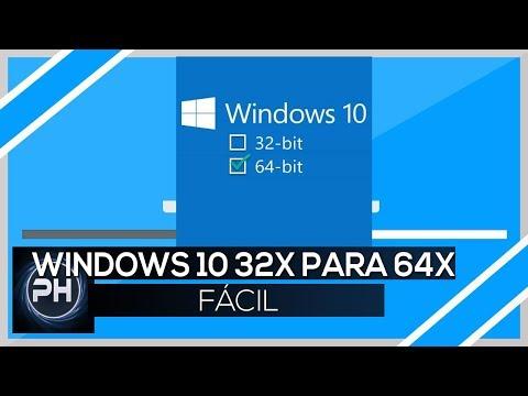 Como Passar 32 Bits Para 64 No Windows10 !