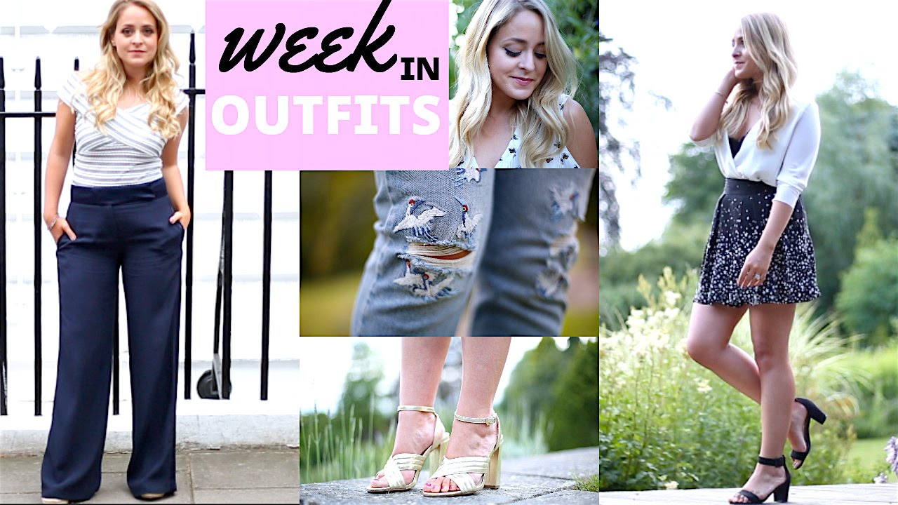 my week in outfits book tour fleur de force youtube. Black Bedroom Furniture Sets. Home Design Ideas