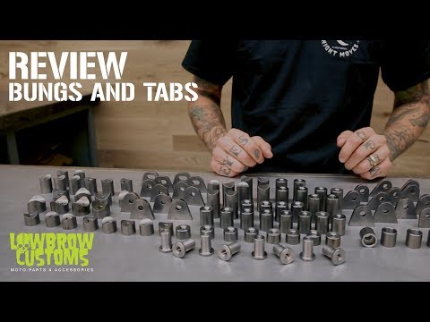 Custom Motorcycle Fabrication Bungs And Tabs Review
