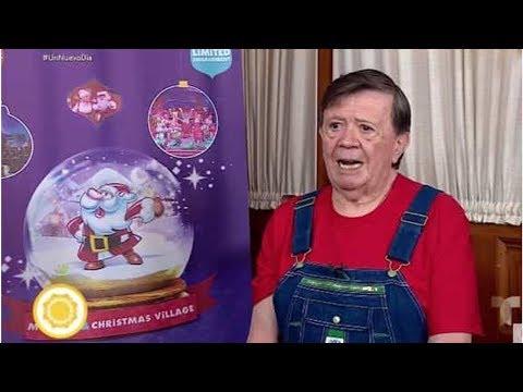 'En Navidad comeré unos taquitos de caca': responde Chabelo enojado a reportera [HAY VIDEO]