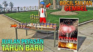 BOCAH SD JUALAN PETASAN TAHUN BARU - GTA 5 SULTAN BOCIL