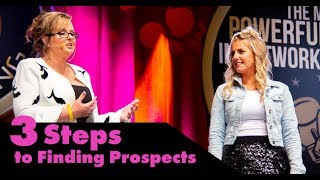Recruiting - 3 Steps to Finding Prospects