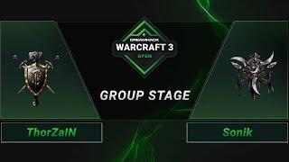 WC3 - ThorZaIN vs. Sonik - Groupstage - DreamHack WarCraft 3 Open: Summer 2021 - Europe