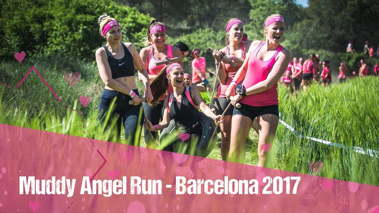 muddy angel run barcelona 2017 youtube. Black Bedroom Furniture Sets. Home Design Ideas