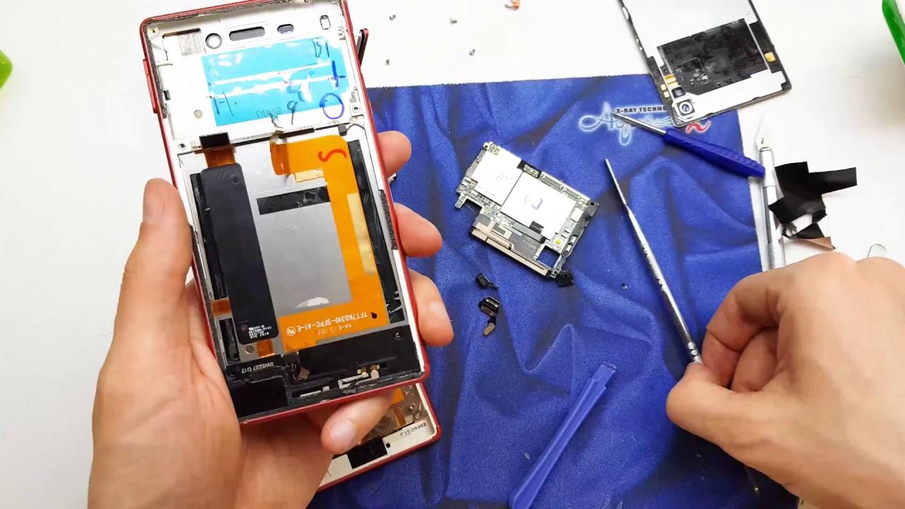 Sony Xperia M4 Aqua Broken LCD Repair Guide   Disassembly   4K