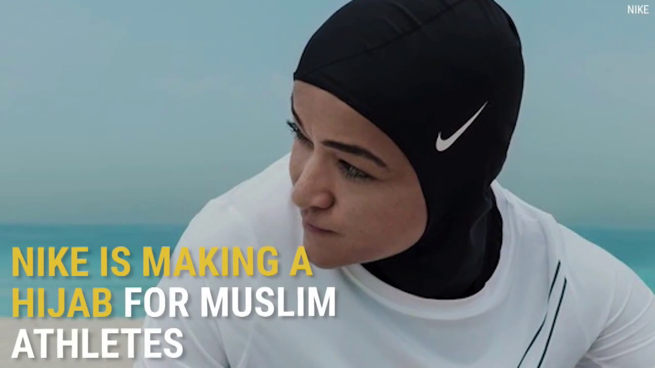 Nike Is Making A Hijab For Muslim Athletes YouTube - Nike is going to launch a hijab collection developed together with muslim athletes