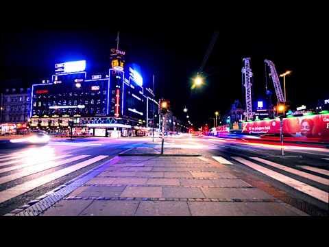 Copenhagen in motion: Timelapse by night