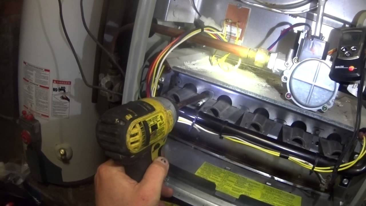 Hvac Maintenance Trane Xr 80 Heat Edited Version Youtube