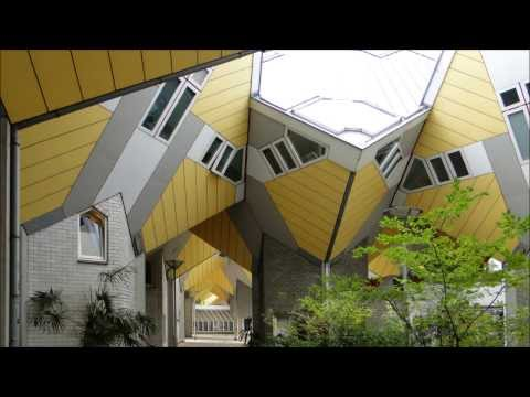 Netherlands: The Cube Houses in Rotterdam