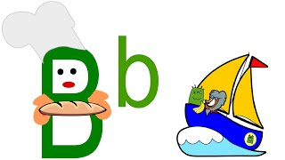 Learn the Alphabets A to Z   The Alphabet B   Phonics   Preschool Learning for kids