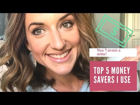 MY TOP 5 TIPS FOR SAVING MONEY|STRETCHING THE DOLLAR FARTHER