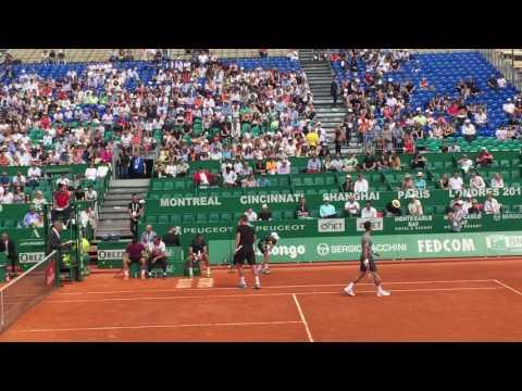 Exhibition Match @ Monte Carlo Rolex Masters 2017. Video 2