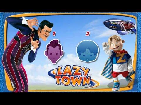 ZIGGY LAZY TOWN CHALLENGE - (Robbie Rotten -Ziggy)